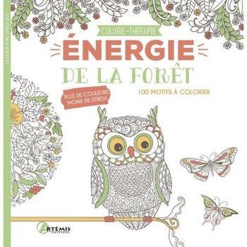 Colorie-Thérapie Énergie De La Forêt