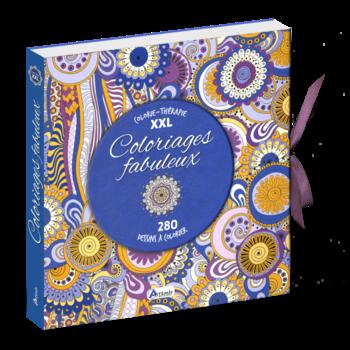 Coloriages Fabuleux Colorie Therapie Xxl 280 Dessins A Colorier