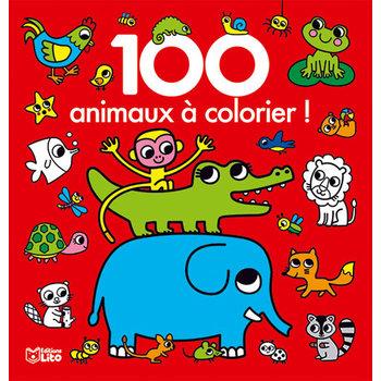 EDITIONS LITO 100 Images à colorier Les animaux