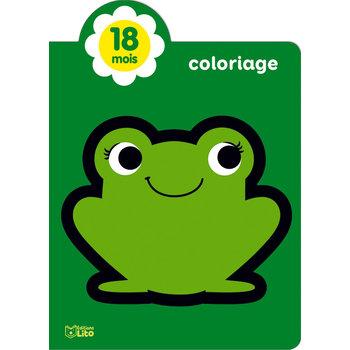 EDITIONS LITO Mes Tout premiers coloriages brillants 18 mois Petite grenouille