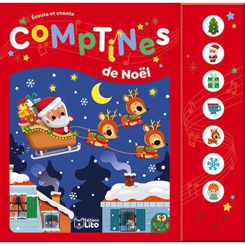 EDITIONS LITO Livre  dés 18 mois Comptines de Noël