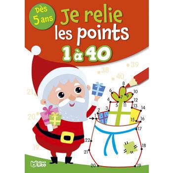EDITIONS LITO Relie les points 5 ans 1 à 40 Noël