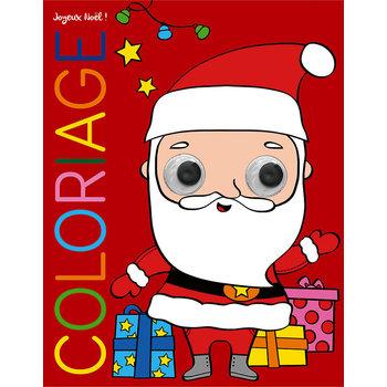 EDITIONS LITO Coloriage Yeux qui bougent 3-7 ans Joyeux Noël