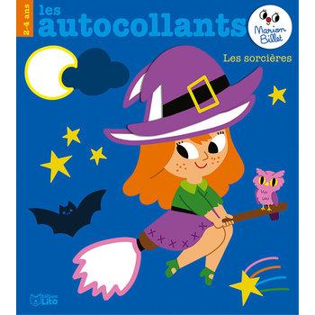 EDITIONS LITO Autocollants Marion Billet 2-4 ans Les sorcières