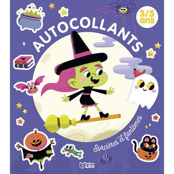 EDITIONS LITO Autocollants 3-5 ans Sorcières et fantômes