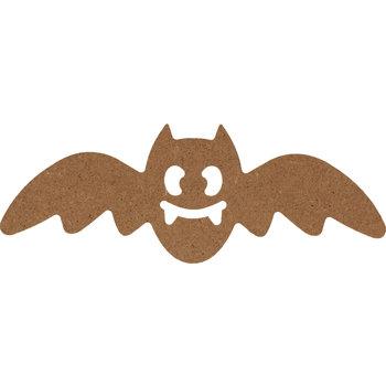 ARTEMIO silhouette MDF chauve-souris 15x5,5cm