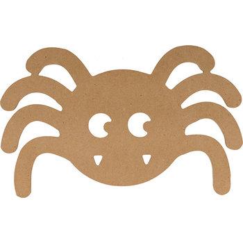 ARTEMIO Silhouette MDF Halloween araignée 15x9,5cm