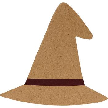 ARTEMIO silhouette MDF chapeau sorcière 15x14,5cm