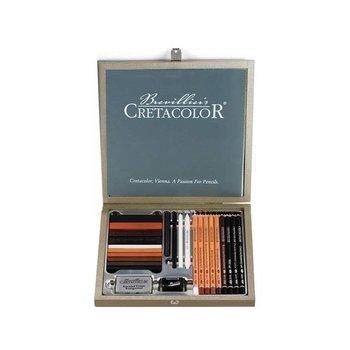 CRETACOLOR Coffret bois Passion Box