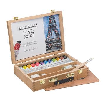 SENNELIER Coffret Rive Gauche 12 tubes 40ml