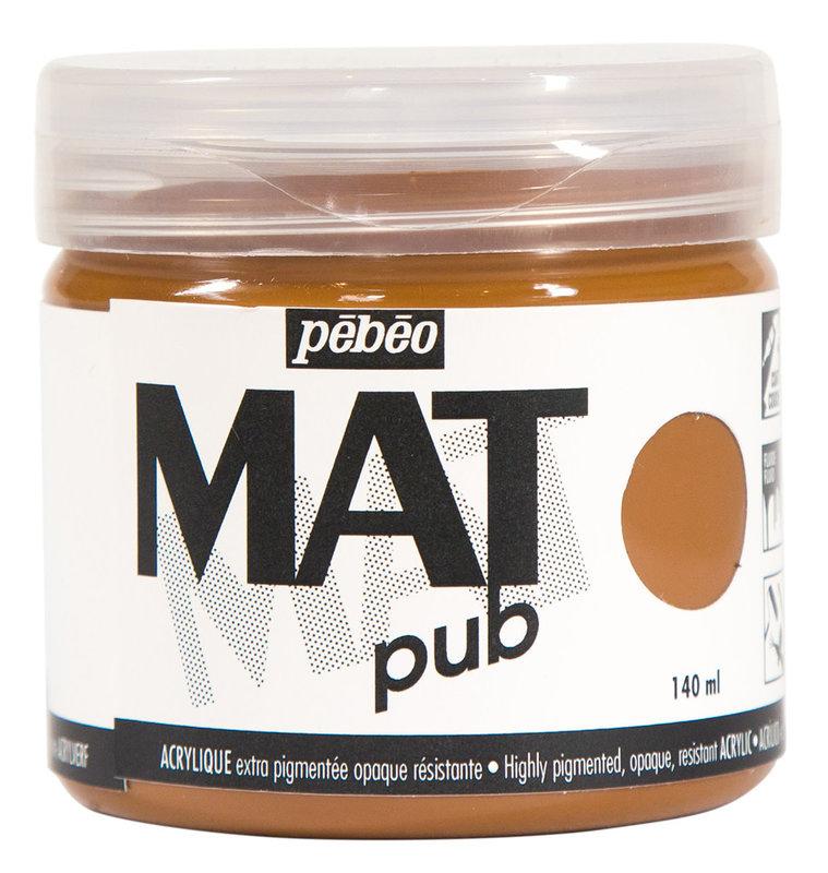 PEBEO Acrylique Mat Pub 140 ml - Sienne naturelle