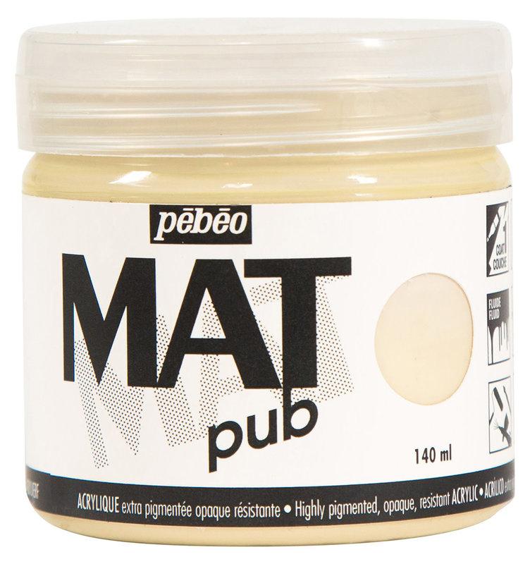 PEBEO Acrylique Mat Pub 140 ml - Ivoire beige