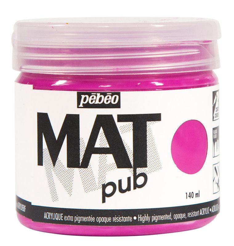 PEBEO Acrylique Mat Pub 140 ml - Rose