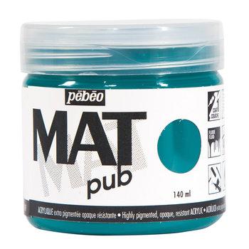 PEBEO Acrylique Mat Pub 140 ml - Vert canard