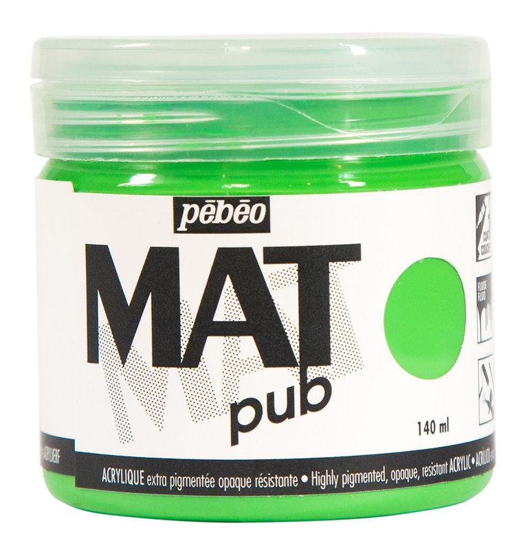 PEBEO Acrylique Mat Pub 140 ml - Vert lumière