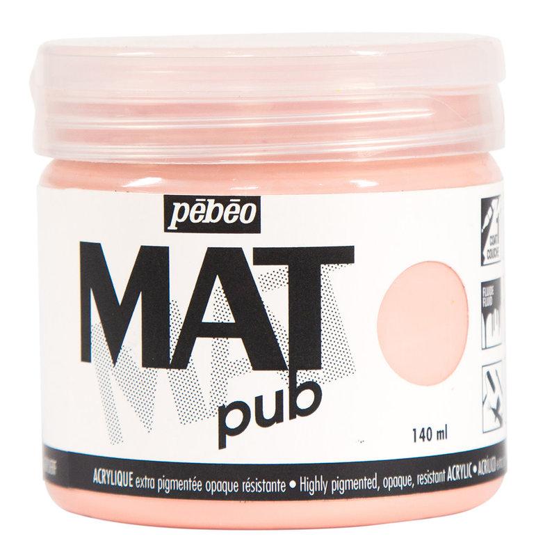 PEBEO Acrylique Mat Pub 140 ml - Rose lumière