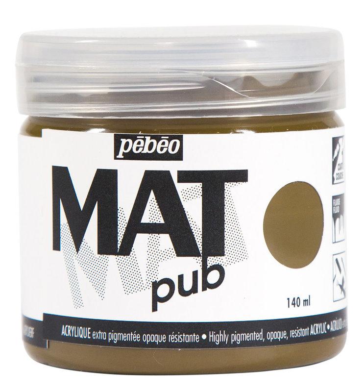 PEBEO Acrylique Mat Pub 140 ml - Ombre naturelle