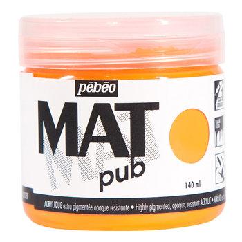PEBEO Acrylique Mat Pub 140 ml - Orange fluo