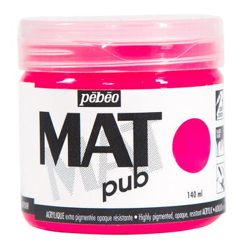 PEBEO Acrylique Mat Pub 140 ml - Rose fluo
