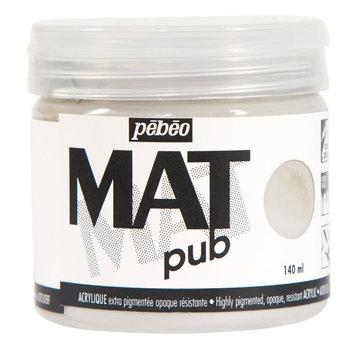 PEBEO Acrylique Mat Pub 140 ml - Gris chaud