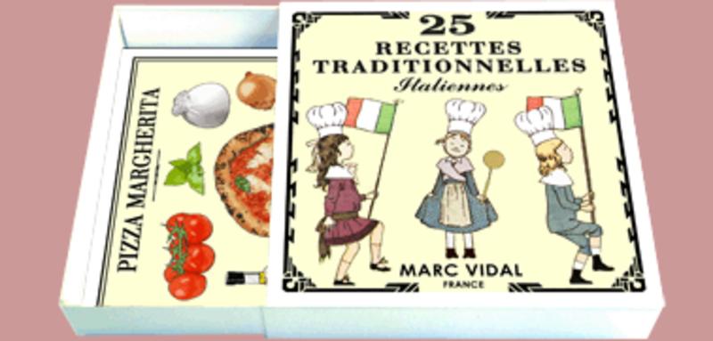 MARC VIDAL 25 Recettes Traditionnelles Italiennes