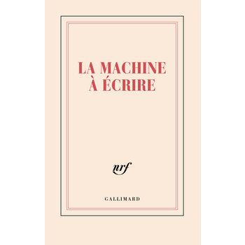 """GALLIMARD Carnet ligné """"LA MACHINE À ÉCRIRE"""""""
