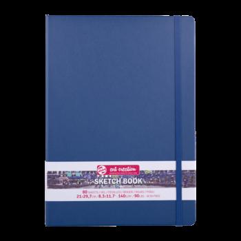TALENS Sketchbook Pastel 21x30cm 140g 80 feuilles  Bleu Marine