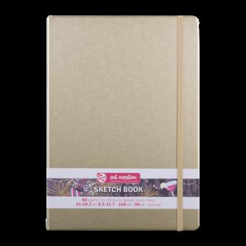 TALENS Sketchbook Pastel 21x30cm 140g 80 feuilles  Or Blanc