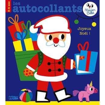 EDITIONS LITO Autocollants Marion Billet Joyeux Noël!
