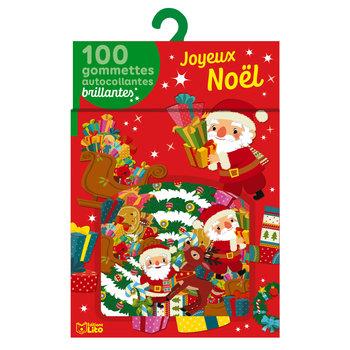 EDITIONS LITO Gommettes Noël brillant