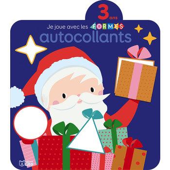 EDITIONS LITO Autocollants Je joue avec les formes – Noël