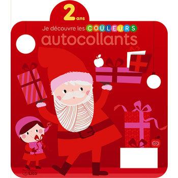 EDITIONS LITO Autocollants Je découvre les couleurs Noël