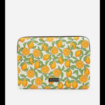 """CASYX Housse pour ordinateur 15"""" Retro Oranges"""