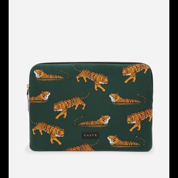 """CASYX Housse pour ordinateur 15"""" Swimming Tigers"""