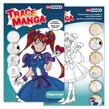"""GO MANGA Trace Manga """"MAGICAL GIRL"""""""