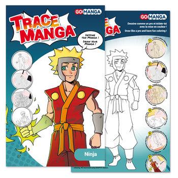 "GO MANGA Trace Manga ""NINJA"""
