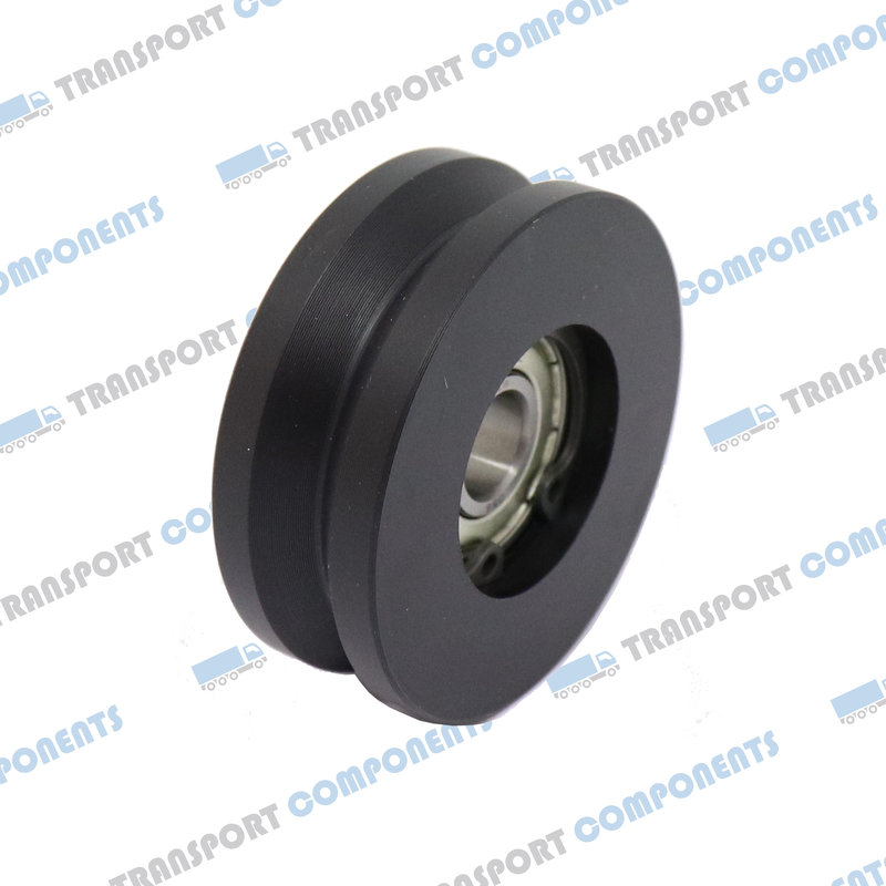 Netcap wheel Ø 50 mm with V-groove