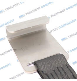 Hook with strap for 25mm upright
