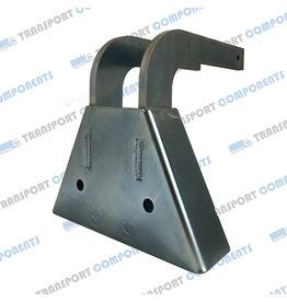 Steel scissor corner