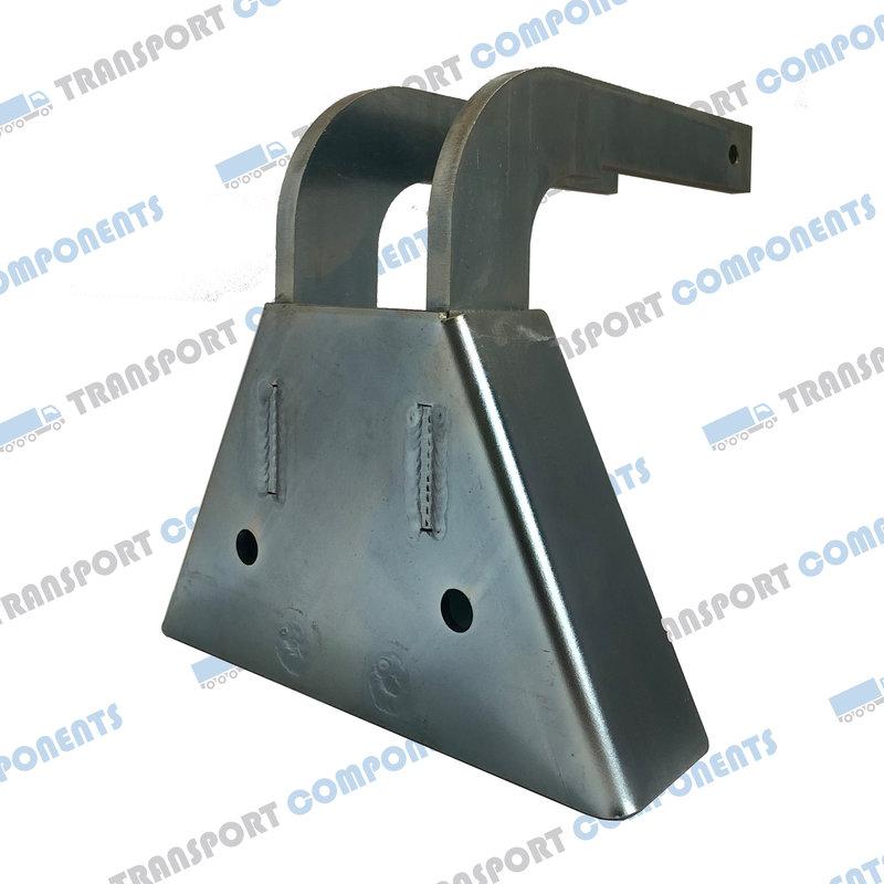 Steel scissor corner, for connection of 2 scissors