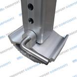 Aluminium foot for LT ALU LEG drop leg