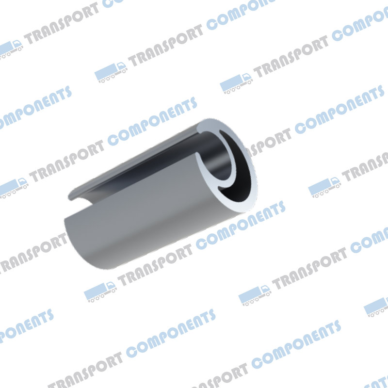 Aluminium Curtain pole 27mm L = 3300mm
