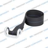 Band schwarz mit Haken - 65 cm