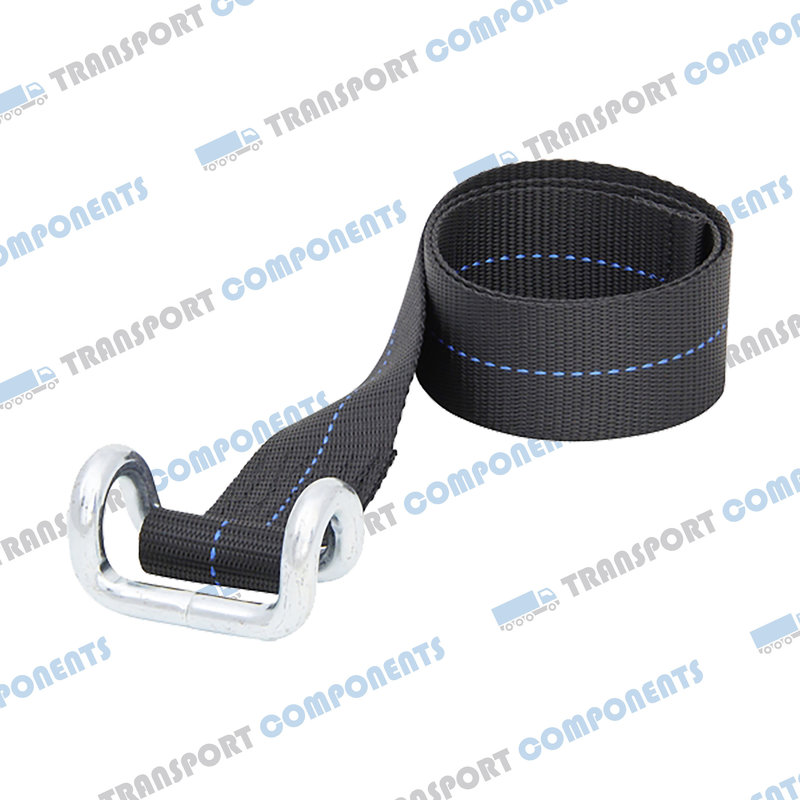 Band black with hook - 65cm