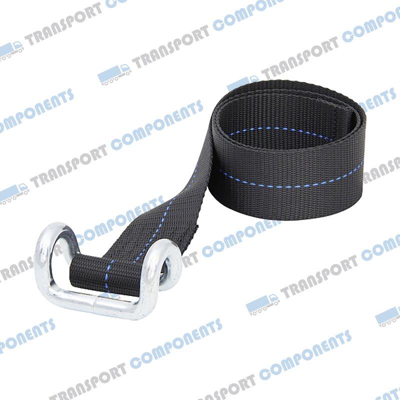 Onderband zwart met draadhaak - 65cm