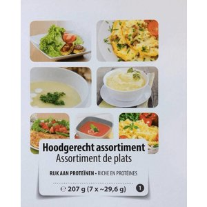 Shape Essentials Assortiment Hoofdmenu (7 stuks)