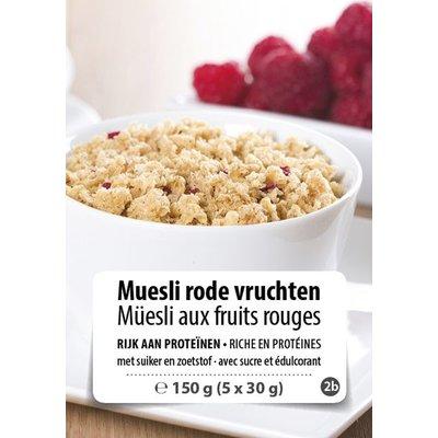 Shape Essentials Muesli rode vruchten (5 x 30g) F2b