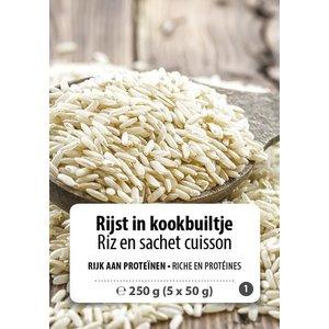 Shape Essentials Rijst in kookbuiltje (5 x 50g) F1