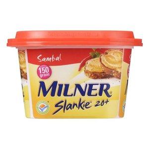 Milner Light Smeerkaas Sambal 150g