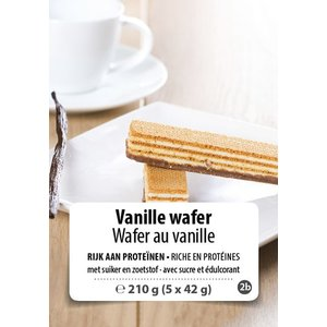 Shape Essentials Vanille wafer (5 x 42g) F2b